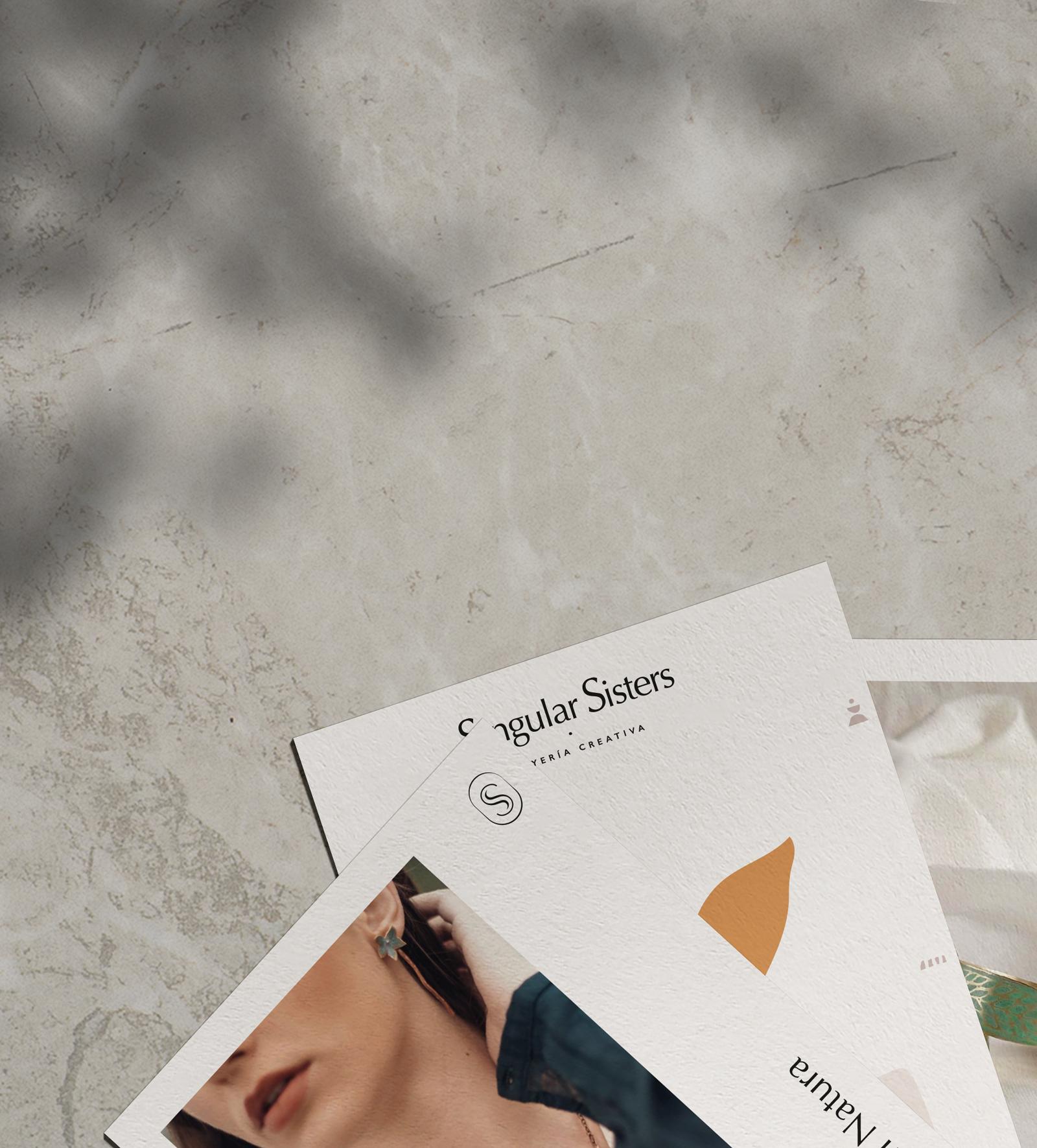 Diseño Identidad Visual Singular Sisters por Gelpi Design