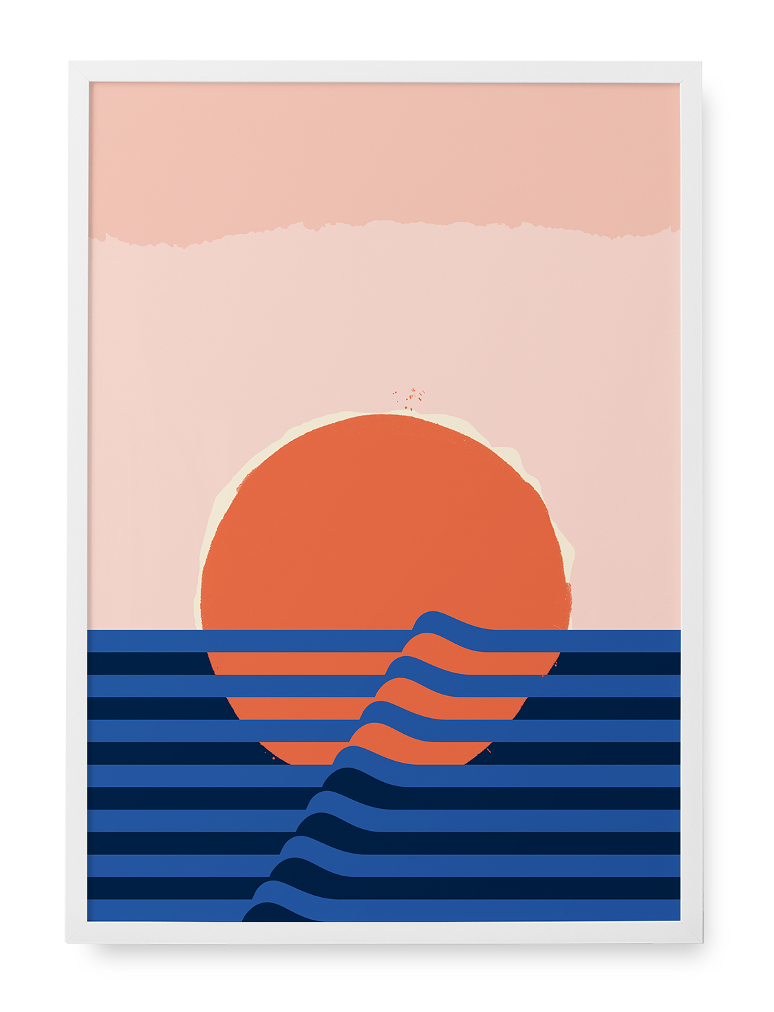 Gelpi Design sunset illustration