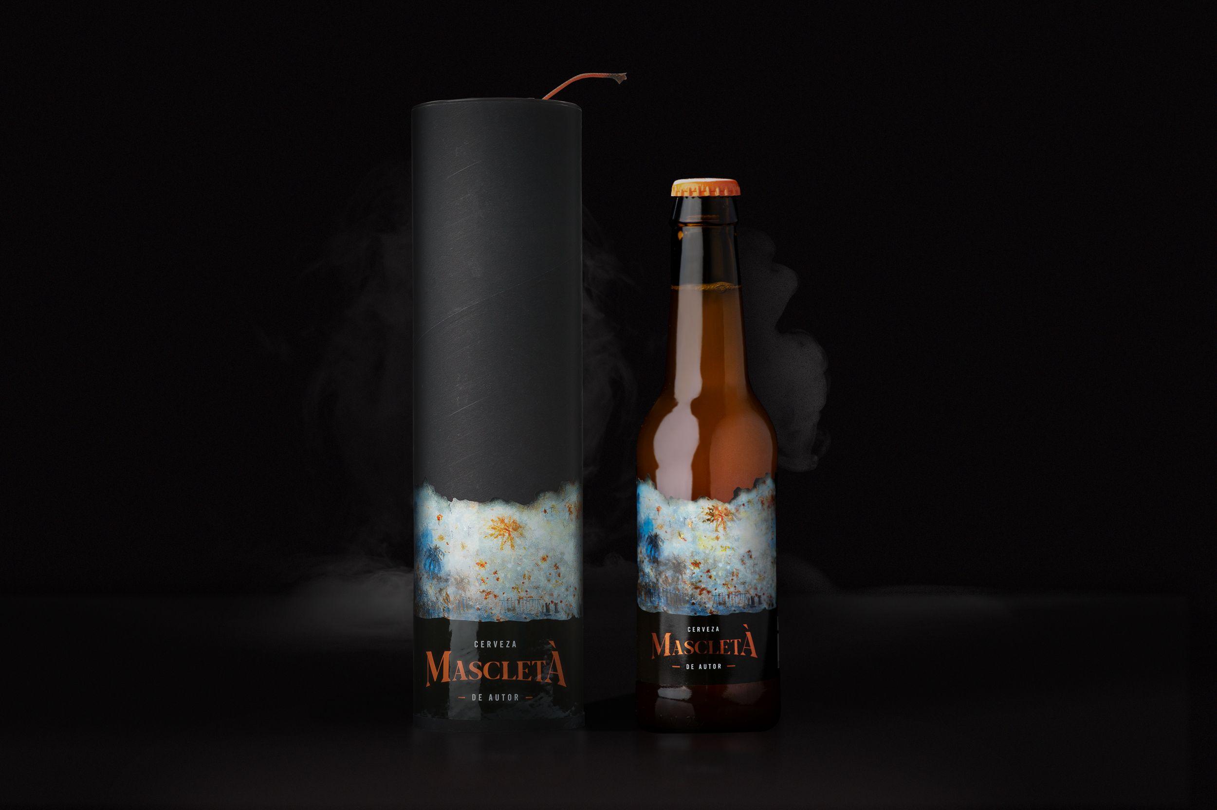 Diseño Pack para Cerveza Mascletá