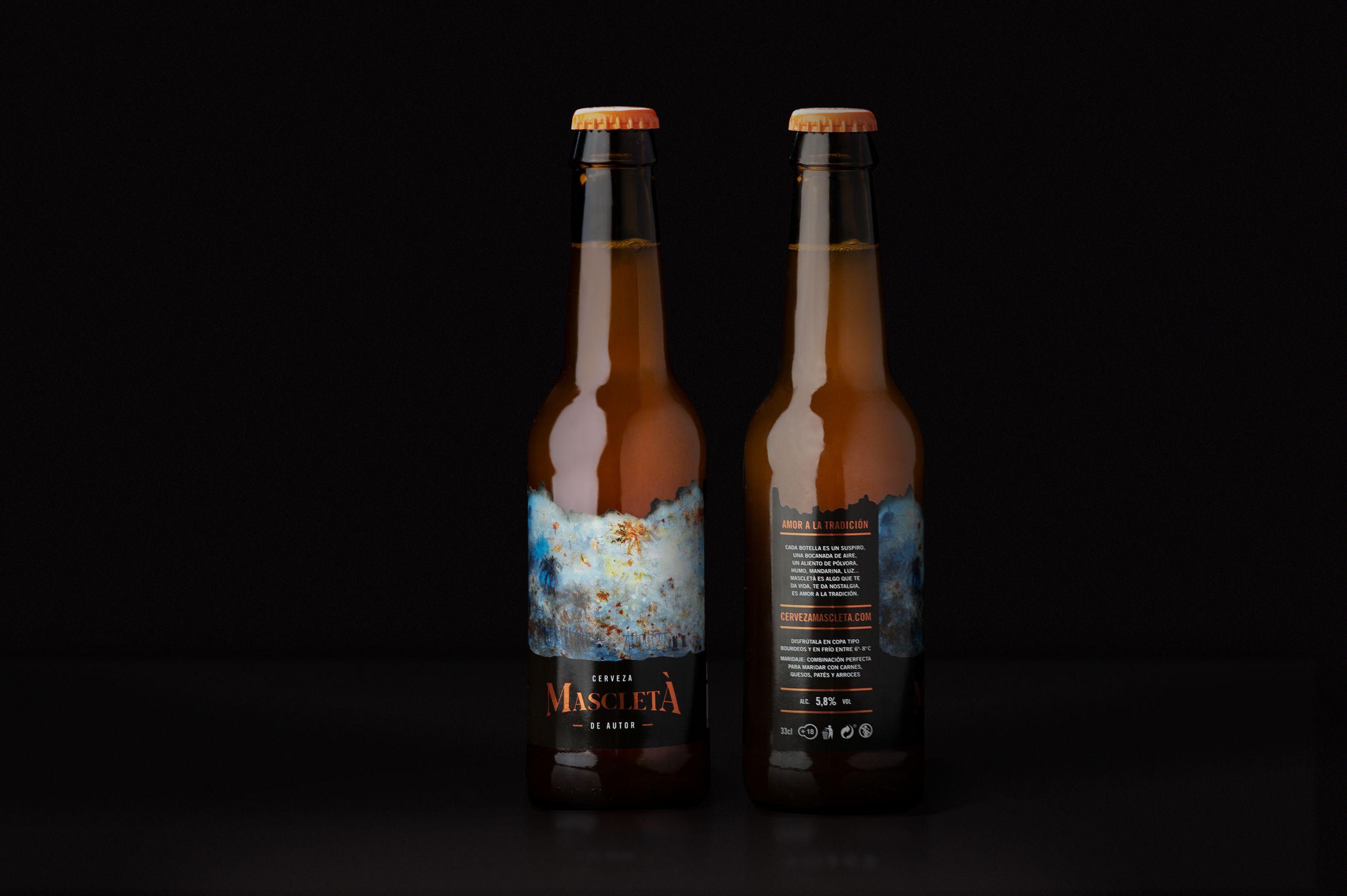 botellas Cerveza Mascletà