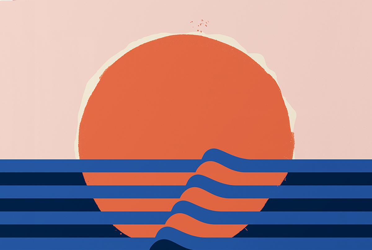 Gelpi Desing illustration sunset
