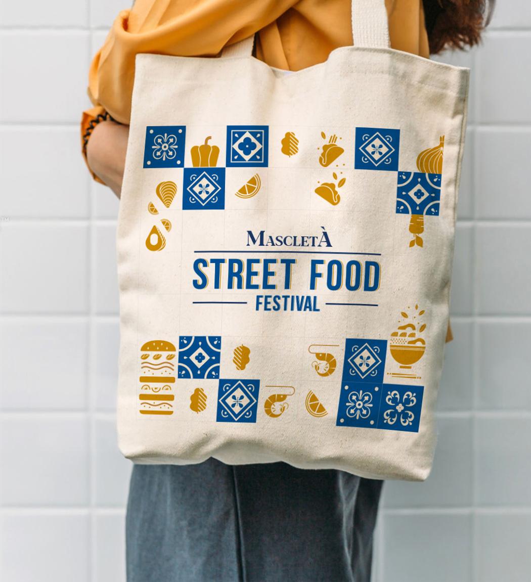 Mascletà Street Food Festival diseño Identidad Visual por Gelpi Design