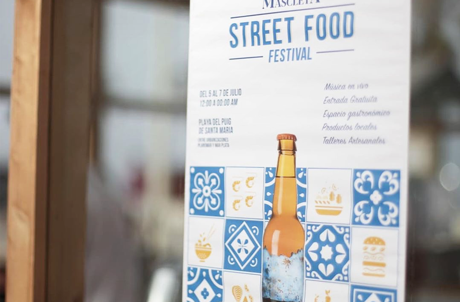 Mascleta Street Food Festival por Cerveza Mascletà